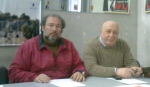 corrado Armeri (sx) dott. Piero azzaro(dx)