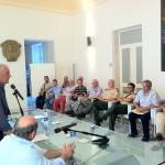 IL PRESIDENTE BONO INCONTRA LE ASSOCIAZIONI DI VOLONTARIATO DELLA  PROTEZIONE CVILE .jpg -  11.7.2011