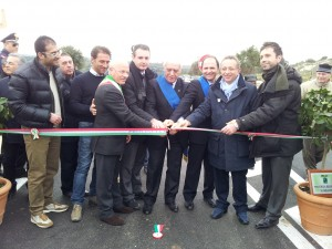 la inaugurazione alla SP 78 Balatazza -Trigona (Solarino) , sabato 28.1.2012(2)