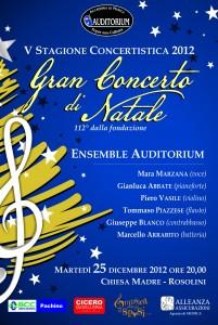 Auditorium Concerto di Natale 2012
