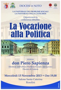 La Vocazione alla Politica Don Stefano