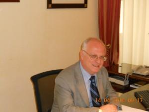 Il Commissario straordinartio Mario Ortello