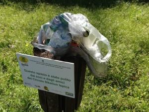 6a - Dopo gli interventi di Legambiente, torna la spazzatura a Cava Ispica