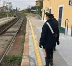 Carabinieri alla Stazione ferroviaria